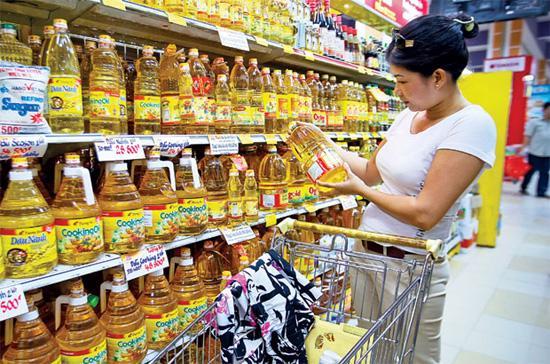 Đây lần thứ hai trong vòng 3 tháng qua chỉ số giá tiêu dùng tại Hà Nội bị âm, và là mức thấp nhất trong các tháng 6 của 10 năm trở lại đây - Ảnh: SGTT.