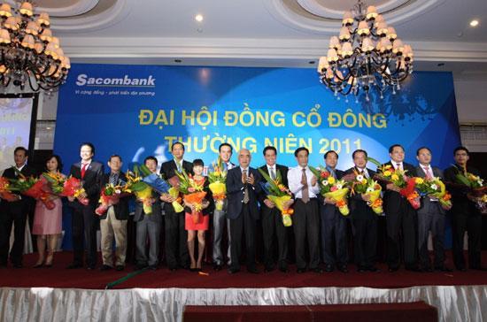Cơ cấu quản trị và giám sát của Sacombank ra mắt tại đại hội đồng cổ đông ngày 26/5 vừa qua.