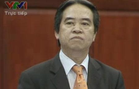 Thống đốc Bình nói rằng, đến giờ phút này ông Kiên không tham gia vào hội đồng quản trị và ban điều hành ngân hàng nào.