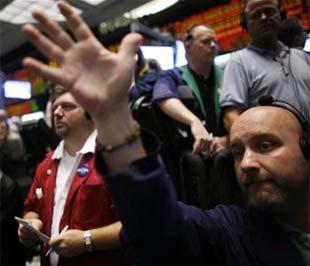 Chứng khoán Mỹ đã tăng mạnh sau ba ngày mất điểm liên tiếp trước đó - Ảnh: Reuters.