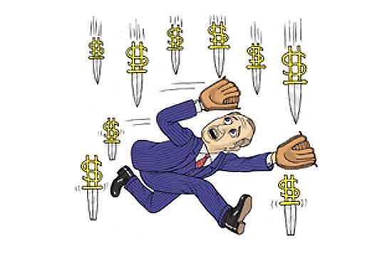 """Bắt """"dao rơi"""" không phải là chiến thuật tồi nếu nhà đầu tư không bị """"chảy máu"""". Điểm bắt dao rơi thường là các ngưỡng hỗ trợ trên phương diện kỹ thuật."""