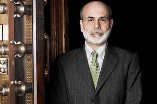 Ông Ben Bernanke, Chủ tịch Cục Dự trữ Liên bang Mỹ.