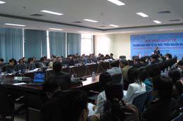 """Hội thảo quốc tế """"Thương mại điện tử và phát triển nguồn nhân lực""""."""