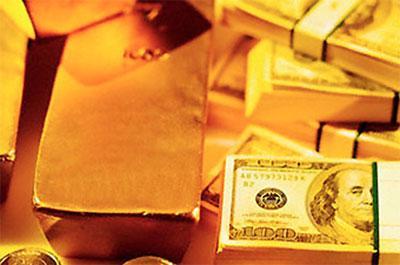 Sự xuống dốc của tỷ giá đồng USD trong ngày hôm qua cũng là một nguyên nhân đẩy giá vàng tăng cao.