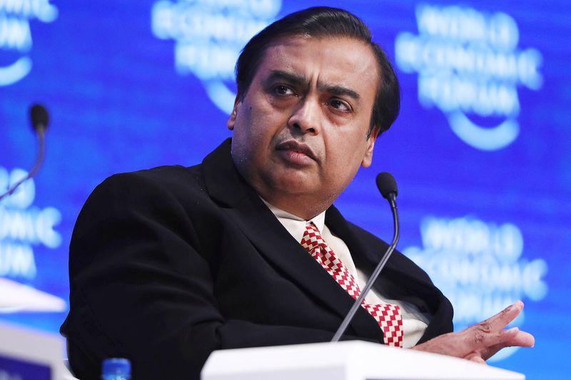 Tỷ phú Ấn Độ Mukesh Ambani - Ảnh: Bloomberg.<br>