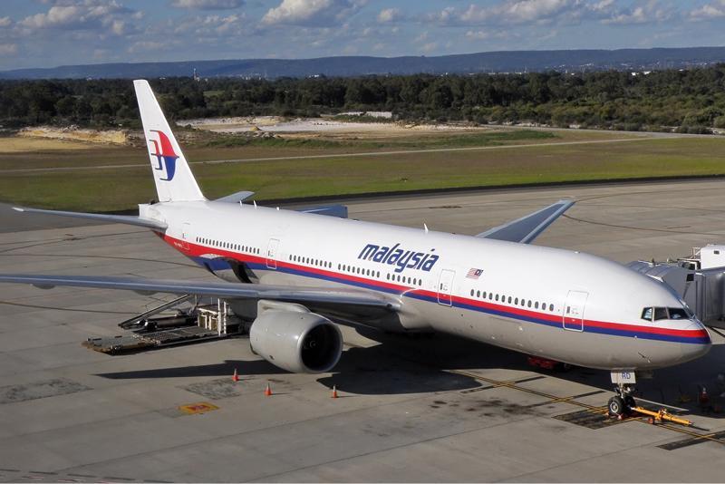 Một máy bay của hãng Malaysia Airlines.<br>
