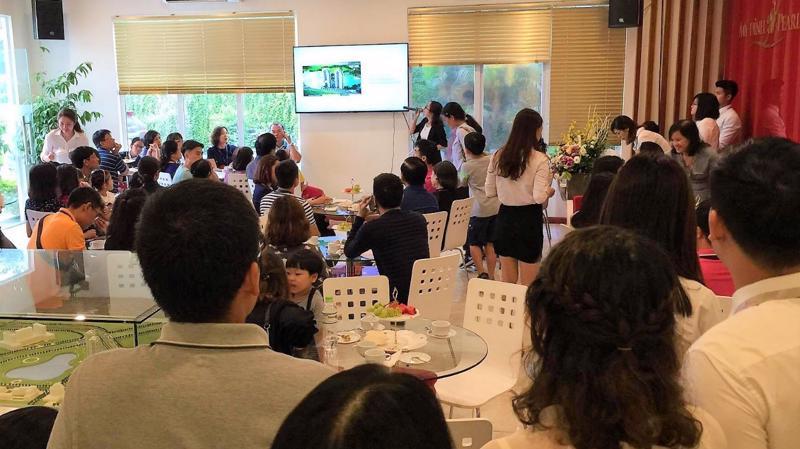 Sự kiện tham quan nhà mẫu dành cho các chủ sở hữu căn hộ tại Mỹ Đình Pearl nhận được nhiều phản hồi tích cực từ phía khách hàng.