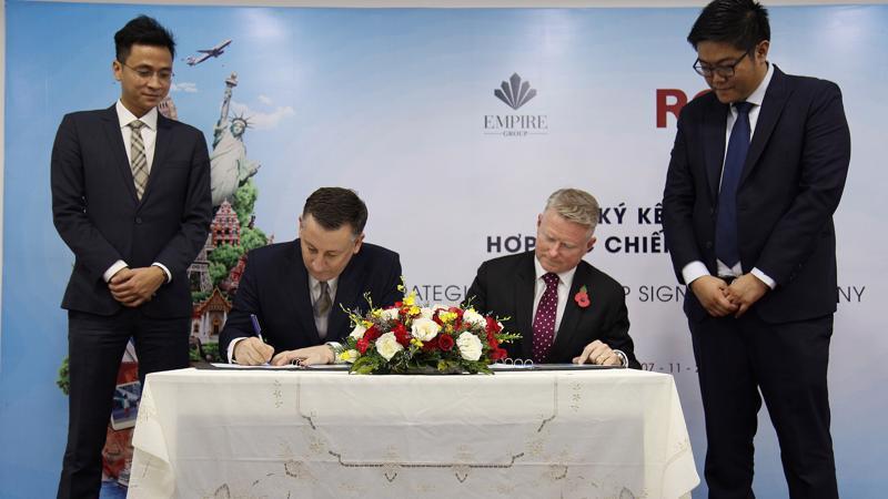 Empire Group và RCI - Mạng lưới trao đổi kỳ nghỉ lớn nhất thế giới chính thức hợp tác