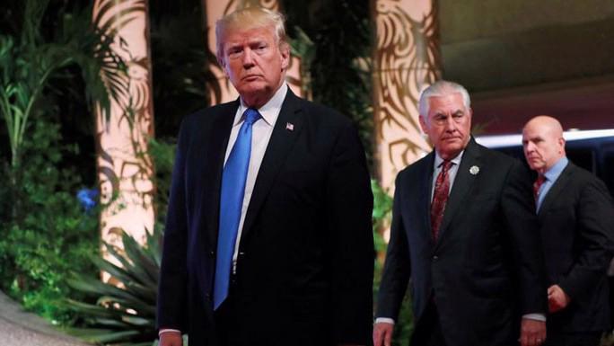 Tổng thống Mỹ Donald Trump tại Manila, Philippines ngày 14/11 - Ảnh: Reuters.