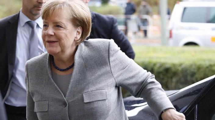 Thủ tướng Đức Angela Merkel tại Berlin ngày 19/11 - Ảnh: Reuters.