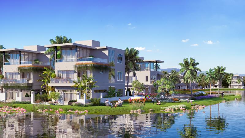 Phối cảnh dự án Lakeside Villa Sầm Sơn.