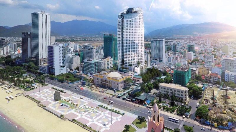 Dự án Panorama Nha Trang đang xây đến tầng 26 thì phải tạm dừng vì những tranh chấp giữa chủ đầu tư và nhà thầu.