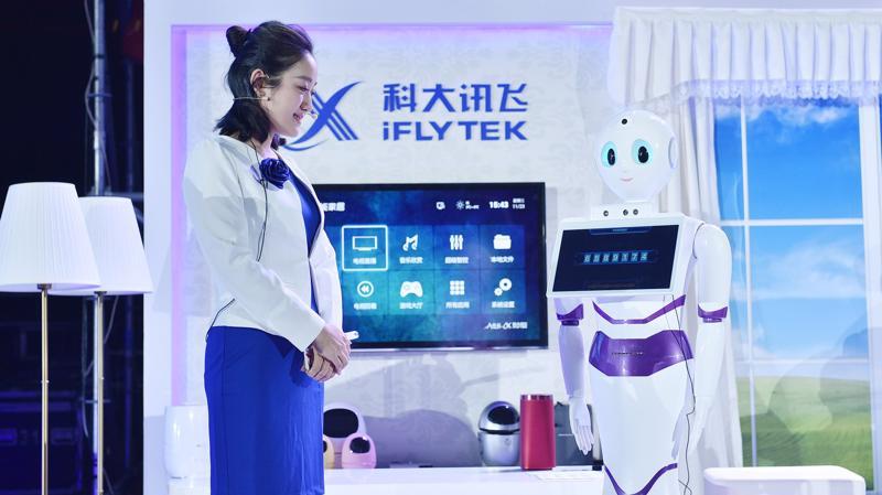 Iflytek là một trong những cổ phiếu AI được mua nhiều nhất ở Trung Quốc hiện nay.