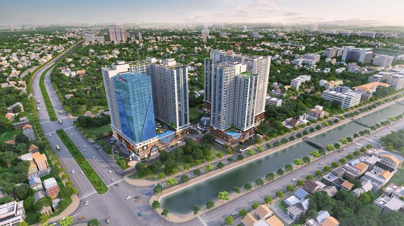 Dự án Hinode City dự kiến ra mắt vào đầu tháng 1 năm 2018.