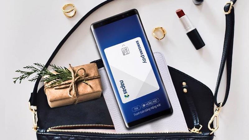 Samsung Pay sẽ giúp người dùng ra đường không cần mang theo thẻ ATM hay tín dụng.