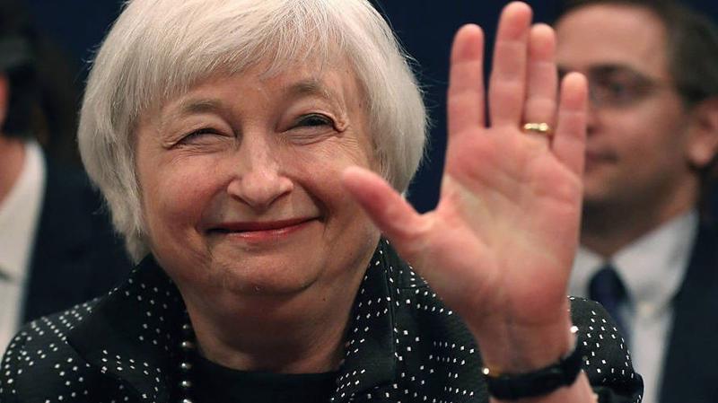 Bà Janet Yellen sẽ chính thức rời cương vị Chủ tịch FED vào cuối tuần này - Ảnh:Getty.