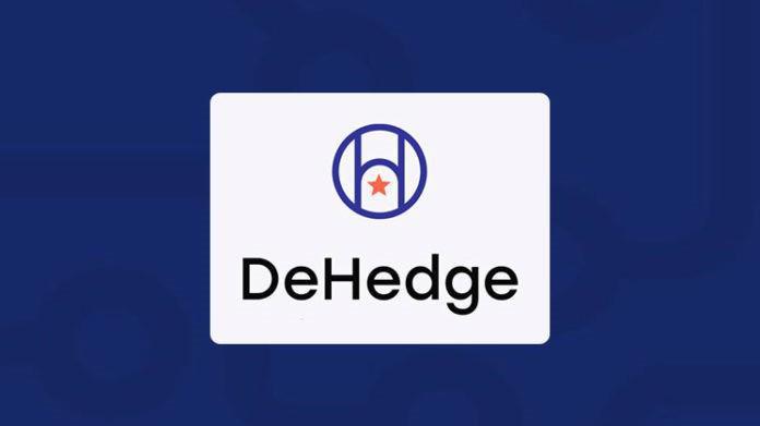 Được phát triển để bảo vệ rủi ro trong nền kinh tế tiền điện tử, DeHedge đồng thời cũng có chức năng như một người bảo lãnh, một người bán các sản phẩm tài chính cấu trúc và một nhà tạo lập thị trường.