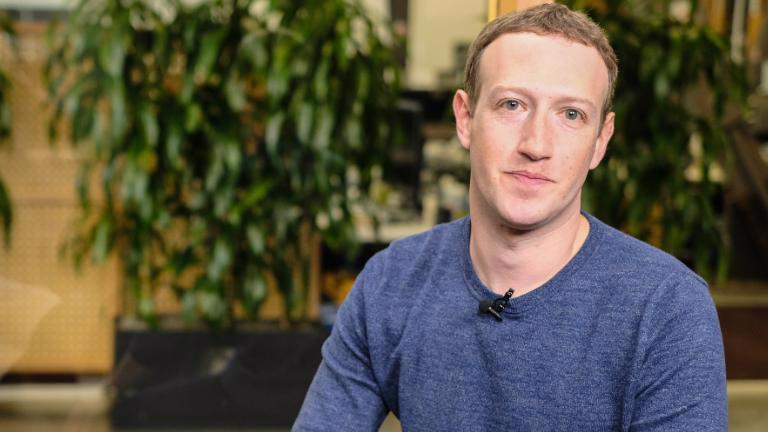 Nhà sáng lập Facebook Mark Zuckerberg trả lời phỏng vấn CNN ngày 21/3 - Ảnh: CNN.
