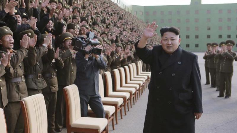 Nhà lãnh đạo Triều Tiên Kim Jong Un - Ảnh: KCNA/Reuters.
