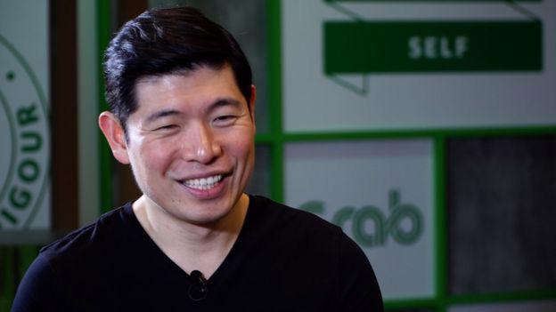 Ông Anthony Tan, CEO Grab - Ảnh: BBC.