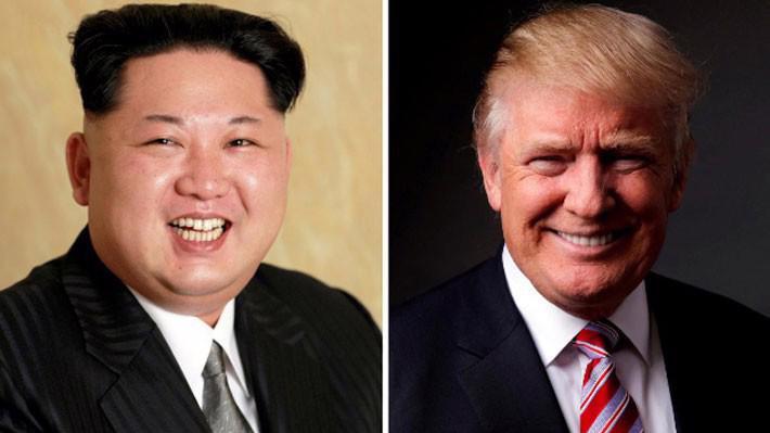 Nhà lãnh đạo Triều Tiên Kim Jong Un (trái) và Tổng thống Mỹ Donald Trump - Ảnh: KCNA, Reuters.