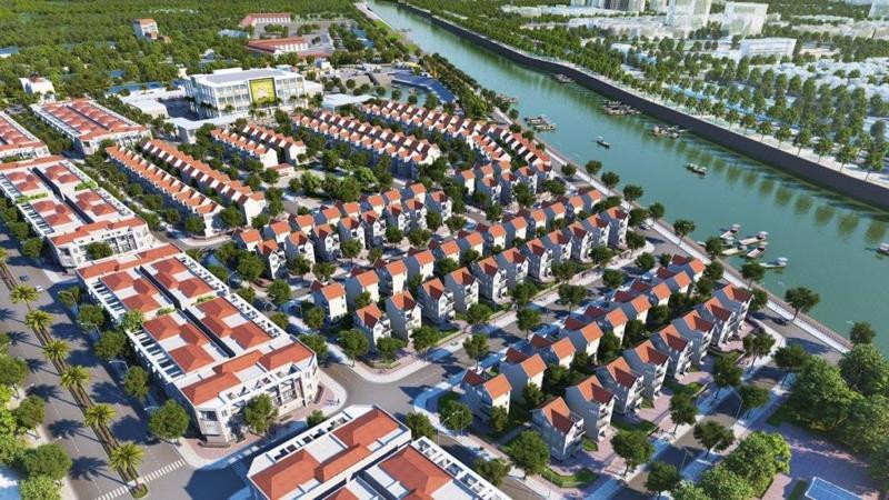 Phối cảnh dự án Kalong Riverside City.
