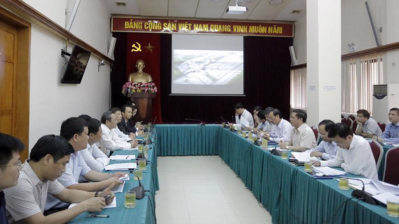 Cuộc họp do Bộ trưởng Bộ Giao thông Vận tải Nguyễn Văn Thể chủ trì.