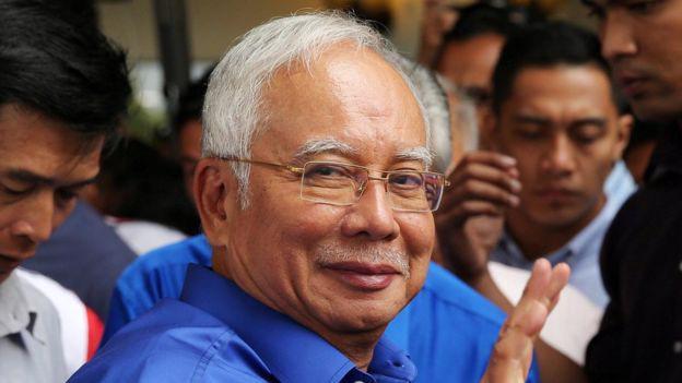 Cựu Thủ tướng Malaysia Najib Razak - Ảnh: Reuters/BBC.