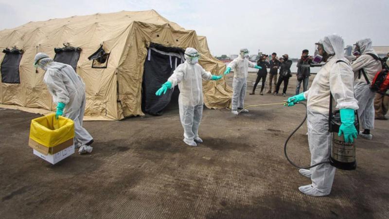 Congo đang đối mặt nguy cơ số ca nhiễm Ebola tăng chóng mặt.