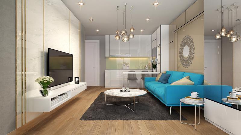 Các căn hộ được thiết kế thông minh, tận dụng tối đa không gian sử dụng chính là điểm mạnh của loại hình căn hộ Limo.
