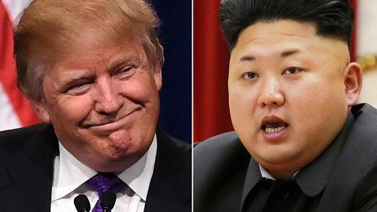 Tổng thống Mỹ Donald Trump và nhà lãnh đạo Triều Tiên Kim Jong Un - Ảnh: Getty/CNBC.