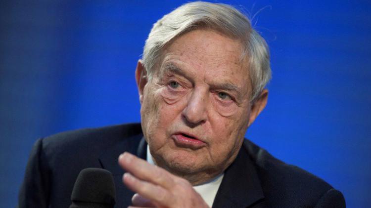 Nhà đầu cơ, tỷ phú George Soros.