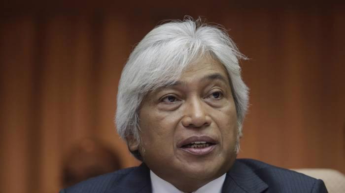 Ông Muhammad Ibrahim, người vừa từ chức Thống đốc Ngân hàng Trung ương Malaysia - Ảnh: EPA/FT.