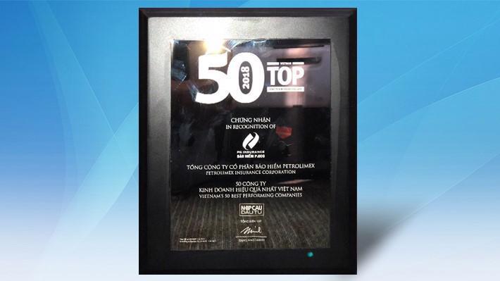 Có tên trong bảng xếp hạng, PJICO cùng các doanh nghiệp khác đã phải chứng minh kết quả kinh doanh liên tiếp trong 3 năm.