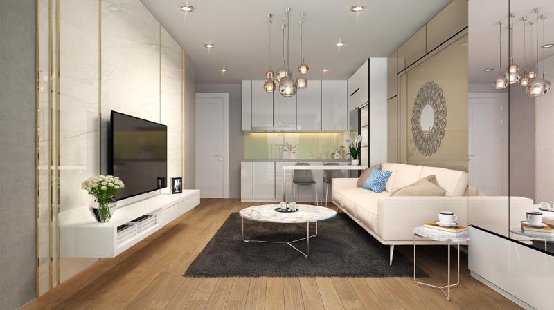 Dự án D'. El Dorado II hứa hẹn sẽ là một kênh đầu tư tiềm năng hấp dẫn dành cho các khách hàng với nhu cầu thuê nhà lớn và giá thuê cao tại khu vực Hồ Tây.