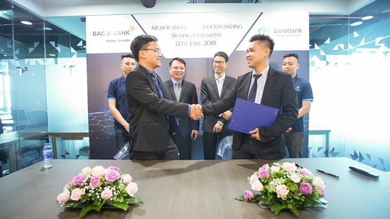 Kiều hối Bắc Á gần đây đã ký kết bản ghi nhớ hợp tác (MOU) với ZeroBank.
