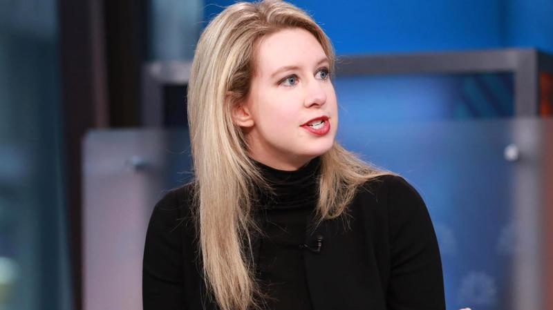 Elizabeth Holmes, nhà sáng lập Theranos - Ảnh: CNBC.
