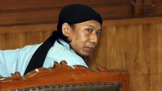 Aman Abdurrahman được coi là kẻ cầm đầu các phần tử thân IS ở Indonesia - Ảnh: EPA/BBC.