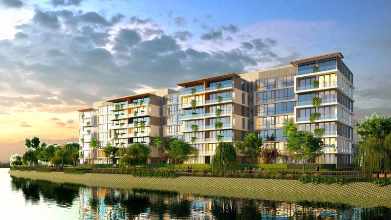 Jamona Sky Villas nằm kiêu hãnh bên dòng sông xanh mát.