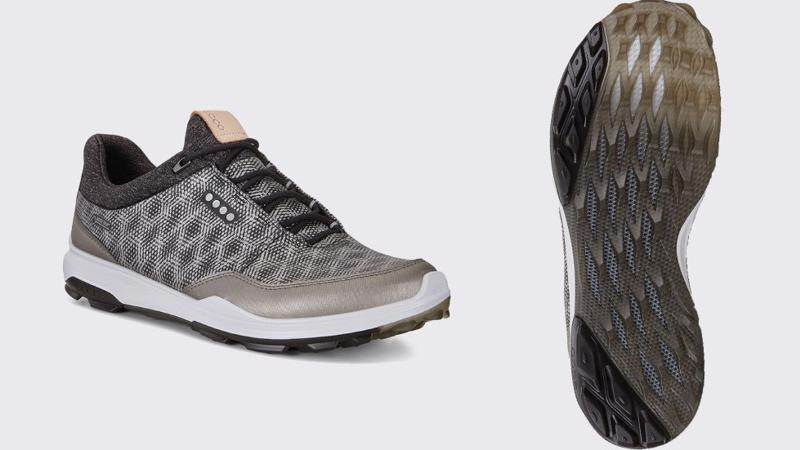 ECCO là thương hiệu tiên phong phát triển dòng giày gôn đế không đinh Hybrid.