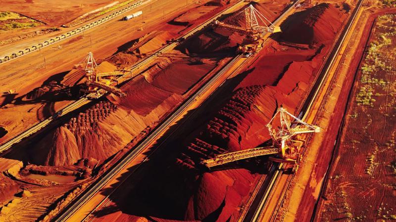 Một mỏ quặng sắt của Australia - Ảnh: Nikkei.