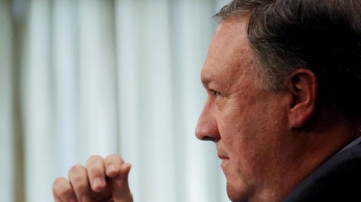 Ngoại trưởng Mỹ Mike Pompeo - Ảnh: Reuters.