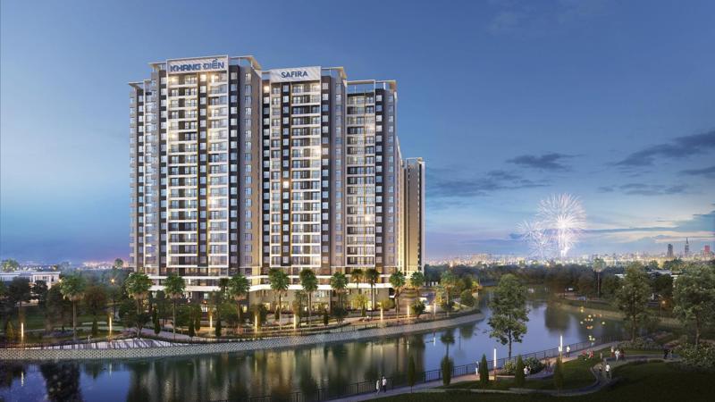 Safira - điểm sáng của thị trường bất động sản quận 9 với giá dự kiến từ 1,27 tỷ/căn (1+1 phòng ngủ, chưa VAT).