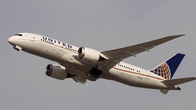 Một máy bay của hãng United Airlines - Ảnh: Getty/BBC.