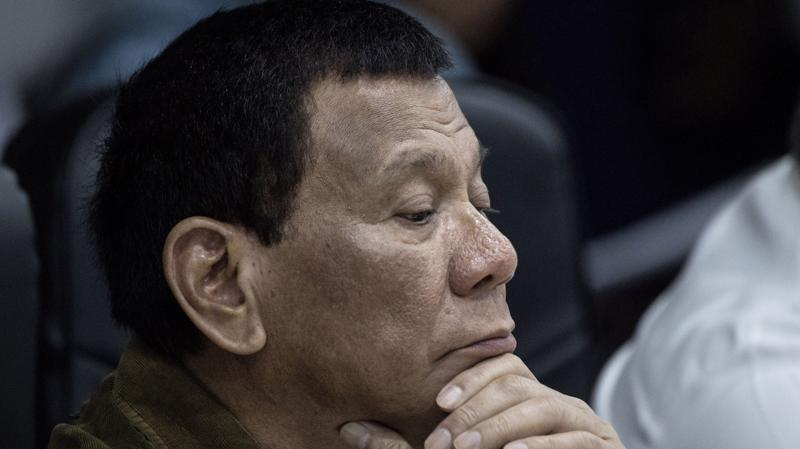 Tổng thống Philippines Rodrigo Duterte - Ảnh: Getty/Bloomberg.