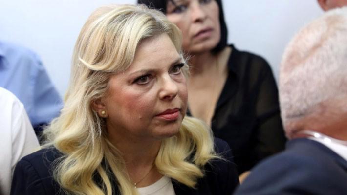 Bà Sara Netanyahu xuất hiện tại tòa án ngày 7/10 - Ảnh: Reuters.