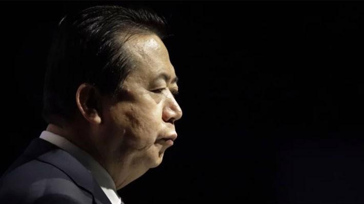 Ông Meng Hongwei là người Trung Quốc đầu tiên giữ cương vị Giám đốc Interpol - Ảnh: AP/SCMP.