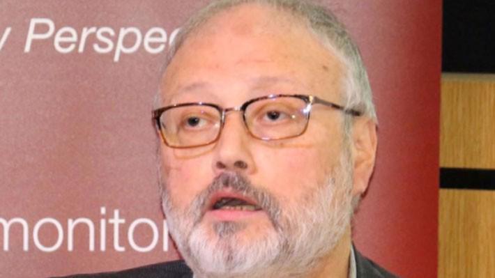 Nhà báo Jamal Khashoggi trong một sự kiện ở Anh hôm 29/9/2018 - Ảnh: Reuters.