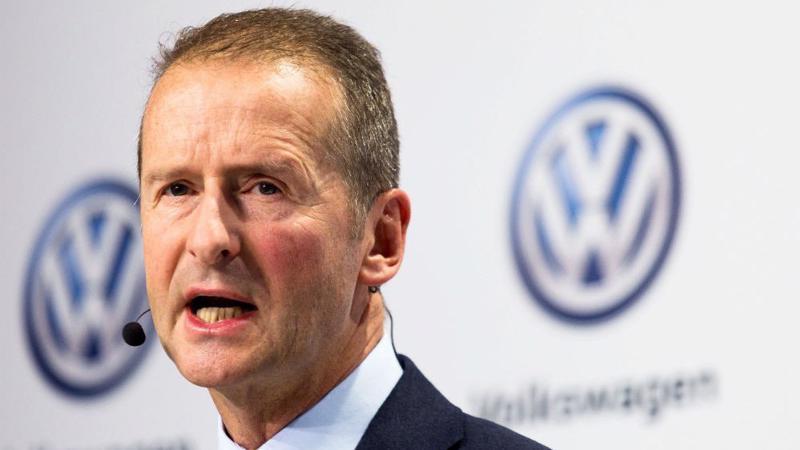 Giám đốc điều hành (CEO) Volkswagen, ông Herbert Diess.