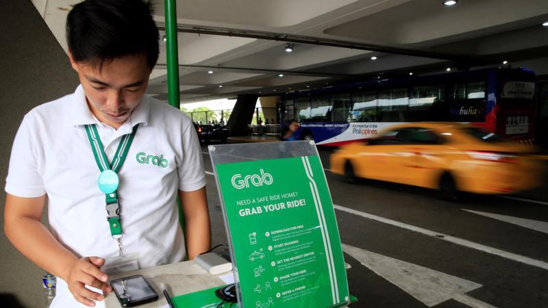 Grab hiện chiếm hơn 90% thị trường gọi xe qua ứng dụng ở Philippines - Ảnh: Reuters/Nikkei.